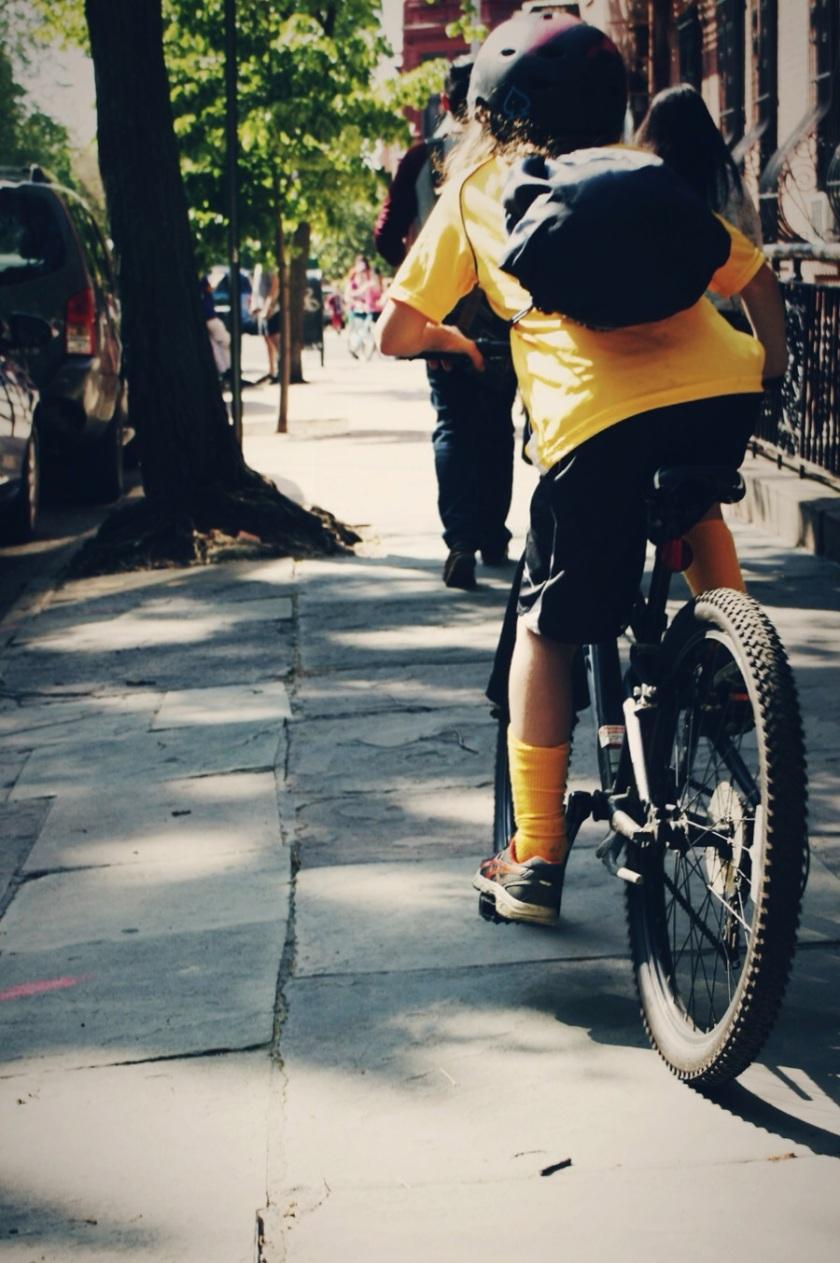 pk slope kid biker