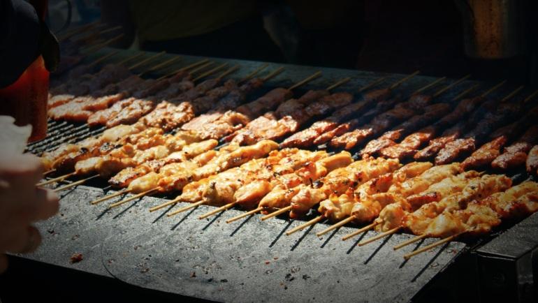 chicken and pork bbq