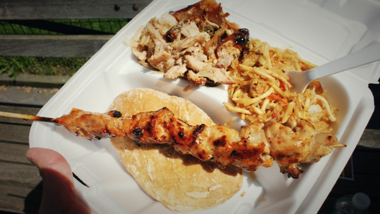 lechon pansit and bbq