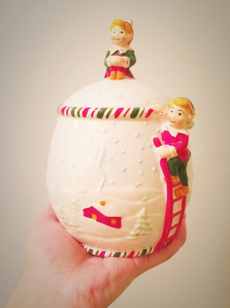 xmas cookie jar