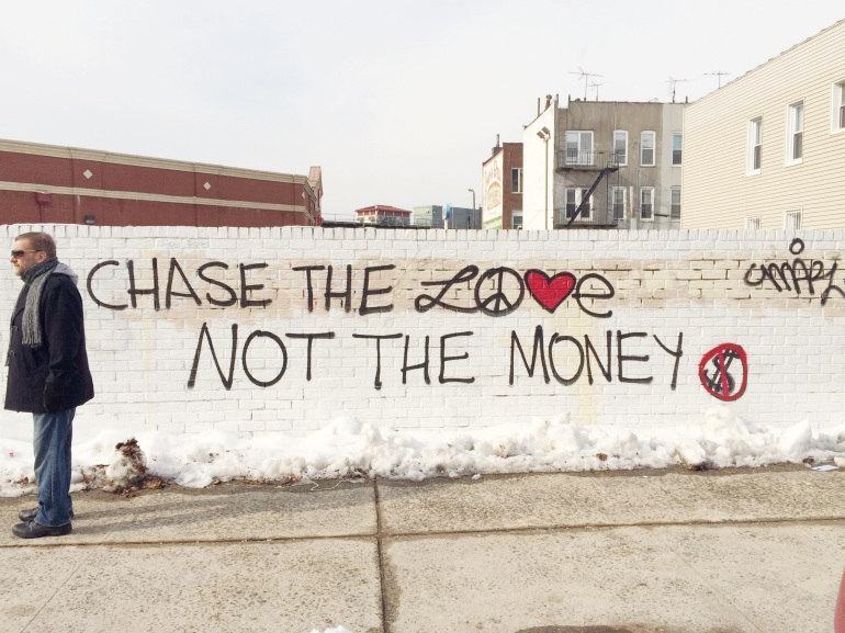 chase the love - brooklyn 2015