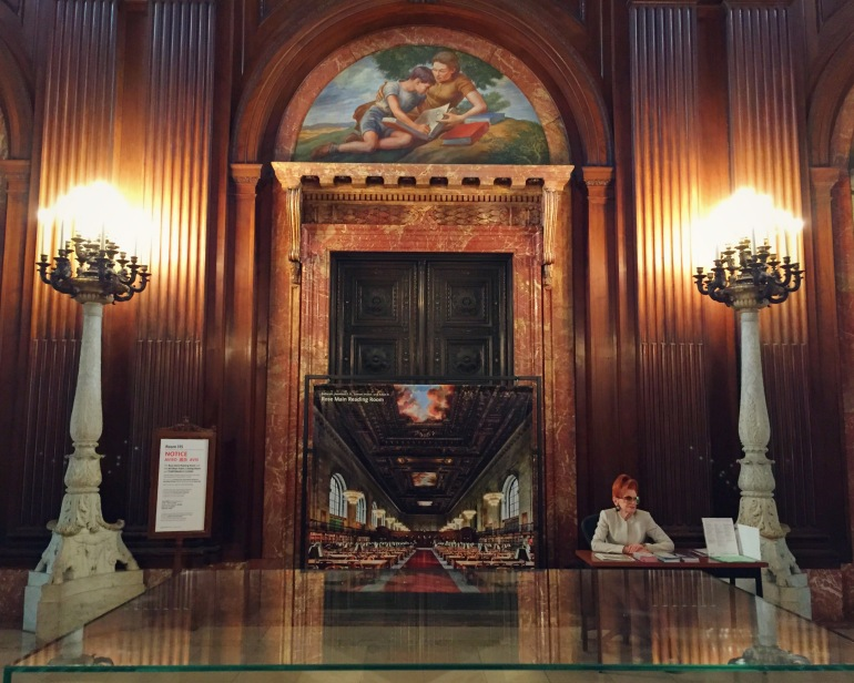 nypl - rose hall - ny ny 2015